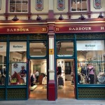 Barbour-double NGS London's finest Gilding