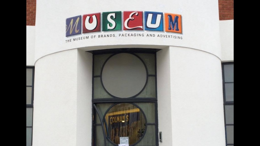 Brand Museum sign by NGS London