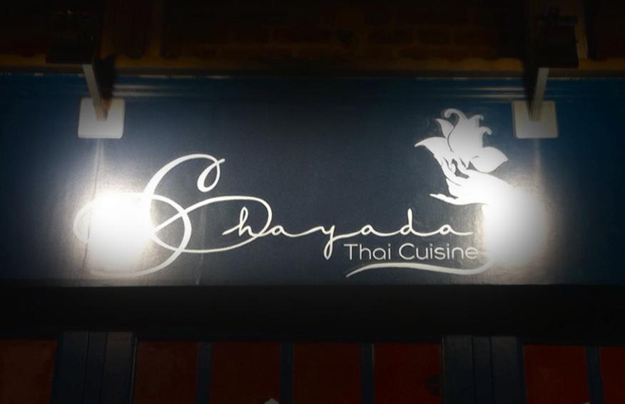 Chayada Thai Restaurant fascia NGS