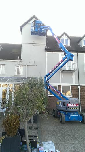 Cherry picker full extension NGS signs