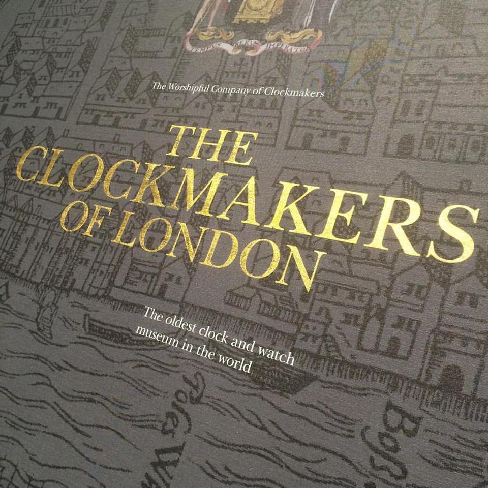 Clockmakers gilding today in the Science Museum NGs 002