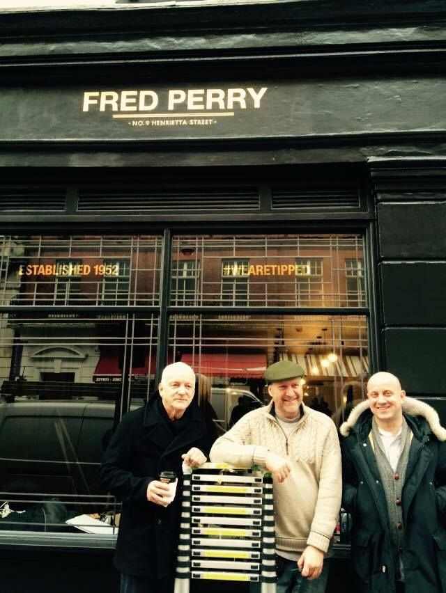 Fred Perry exec team with Nick Garrett NGS