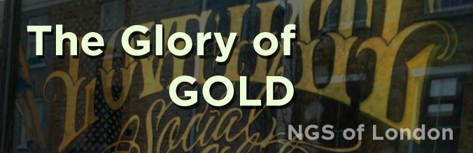 Glory of Gold NGS London Signwriters