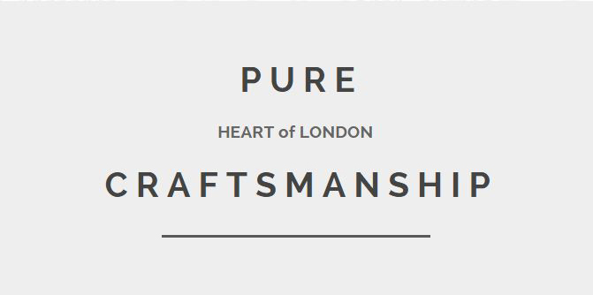 Pure London Craftsmanship NGS