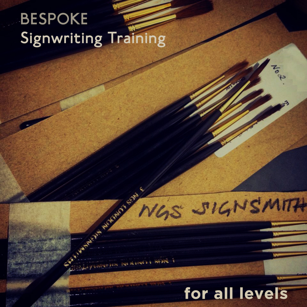 Signsmiths Bespoke training