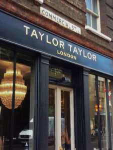 Taylor Taylor Shoreditch NGS signwriters