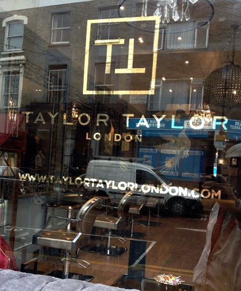 Taylor Taylor glass gilding by Nick Garrett - Notting Hill Signwriter North, West London