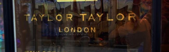 Taylor Taylor glass gild f