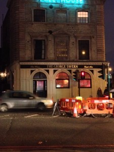 The George tavern London Signwriter Nick Garrett NGS