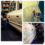 The Ice Cream Cab Signwriting by Nick Garrett 004