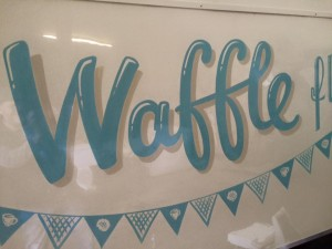 Waffle Float 2 by Nick Garrett Signwriter
