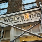 Wolverine Covent garden painted signs NGS signwriters