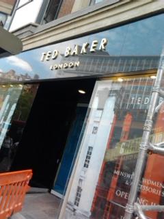 Ted Baker new store Knightsbridge - opening June 2012