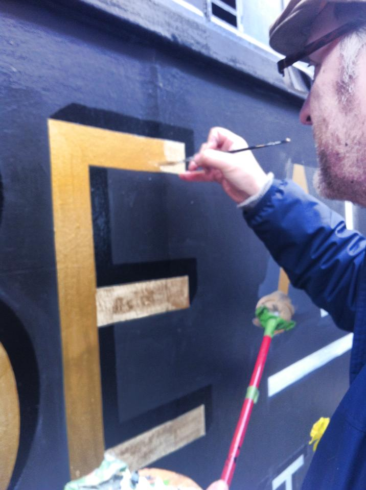 London Signwriter - signwriting and Gilding across London and Beyond. NGS