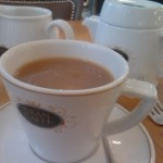 Tea Break at Gran Cru cafe Knightsbridge