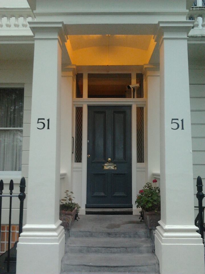 51 done 2 Number for House Signwritten by hand