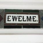 EWELME retro signage London NGS