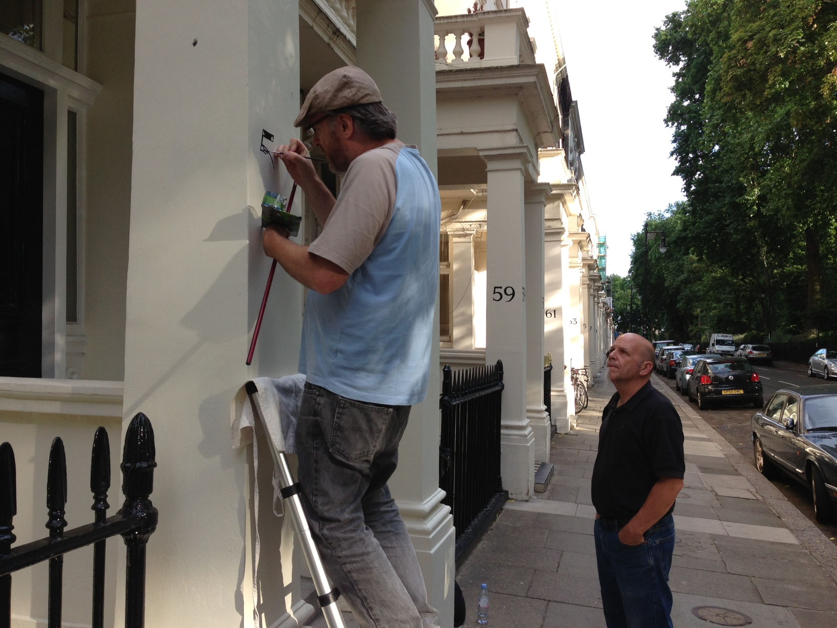 All by hand - Nick Garrett Signs signwriting of distinction