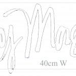 LH Sig Huey Morgan 40cm