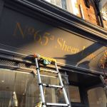 Sheen Mortlake Fascia Nick Garrett Signwriter