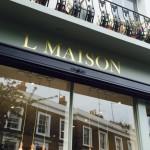 L Maison Notting Hill by Nick Garrett Signwriting