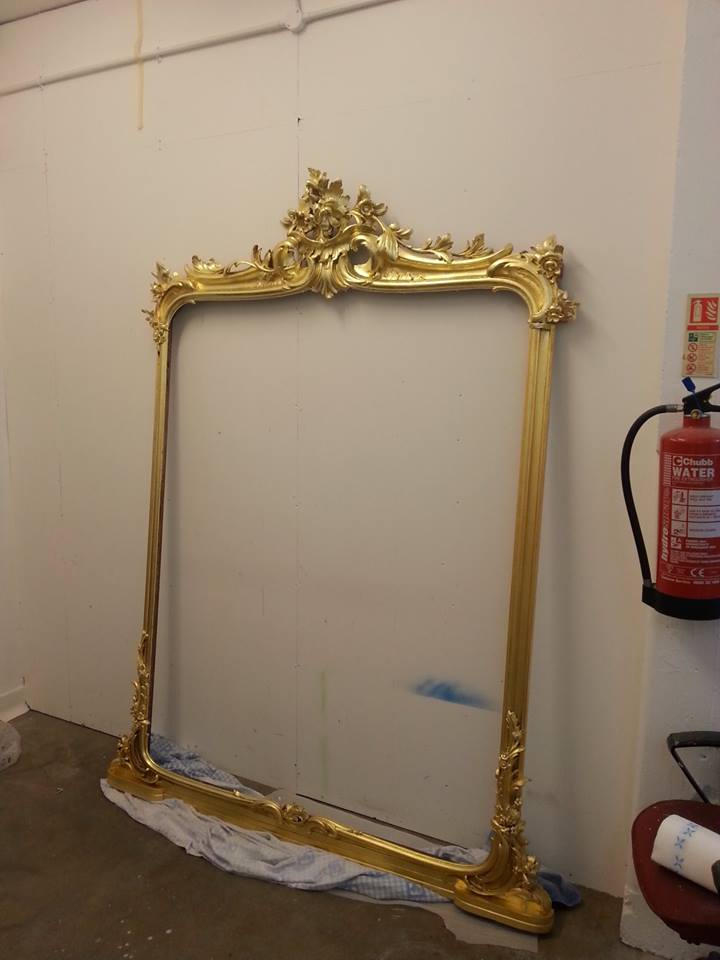 Gilding Glass Amp Antique Restoration Never Been A