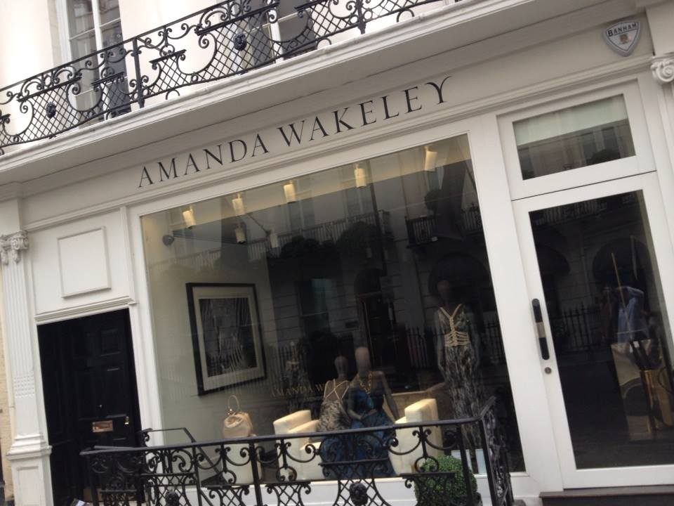 Amanda Wakeley by NGS signwriters of london