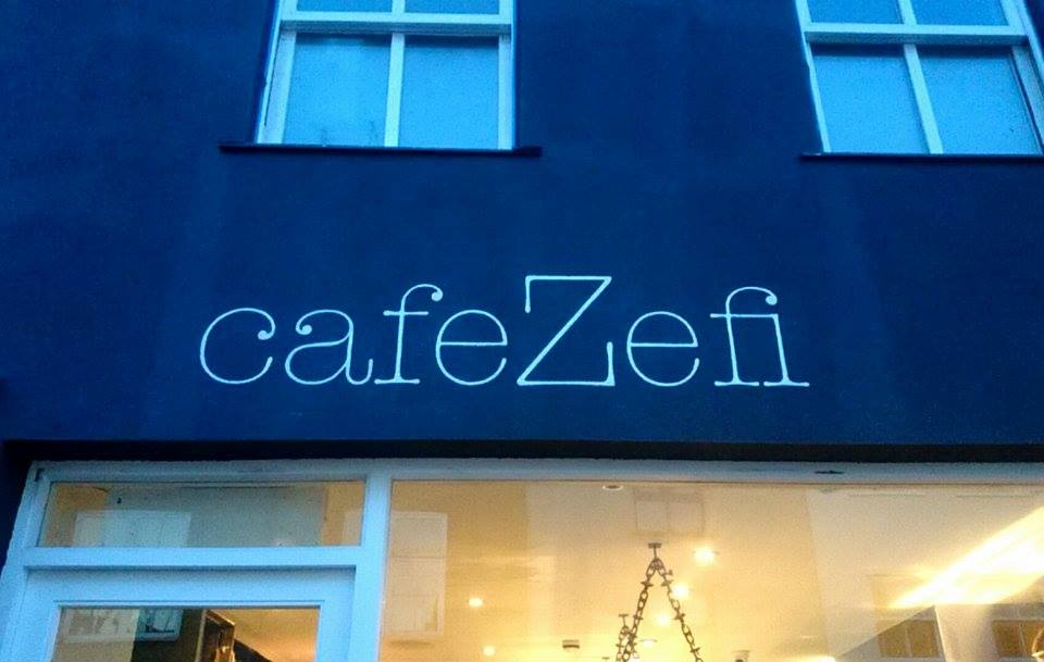 Cafe Zefi finished Hannah NGS