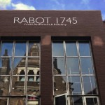 Rabot triple coat lettering London Bridge NGS