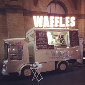 The Waffle Float by Nick Garrett Signwriter