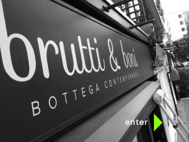 Chic signs BRUTTI BUONI ngs SIGNWRITING LONDON