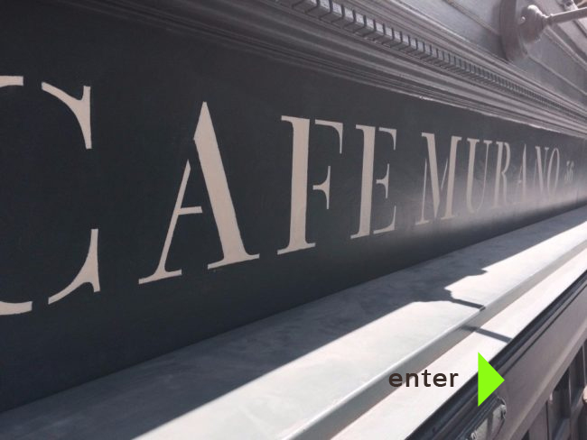 Cafe classic signs London NGS signwriting
