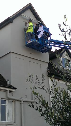 Cherry picker NGS in action