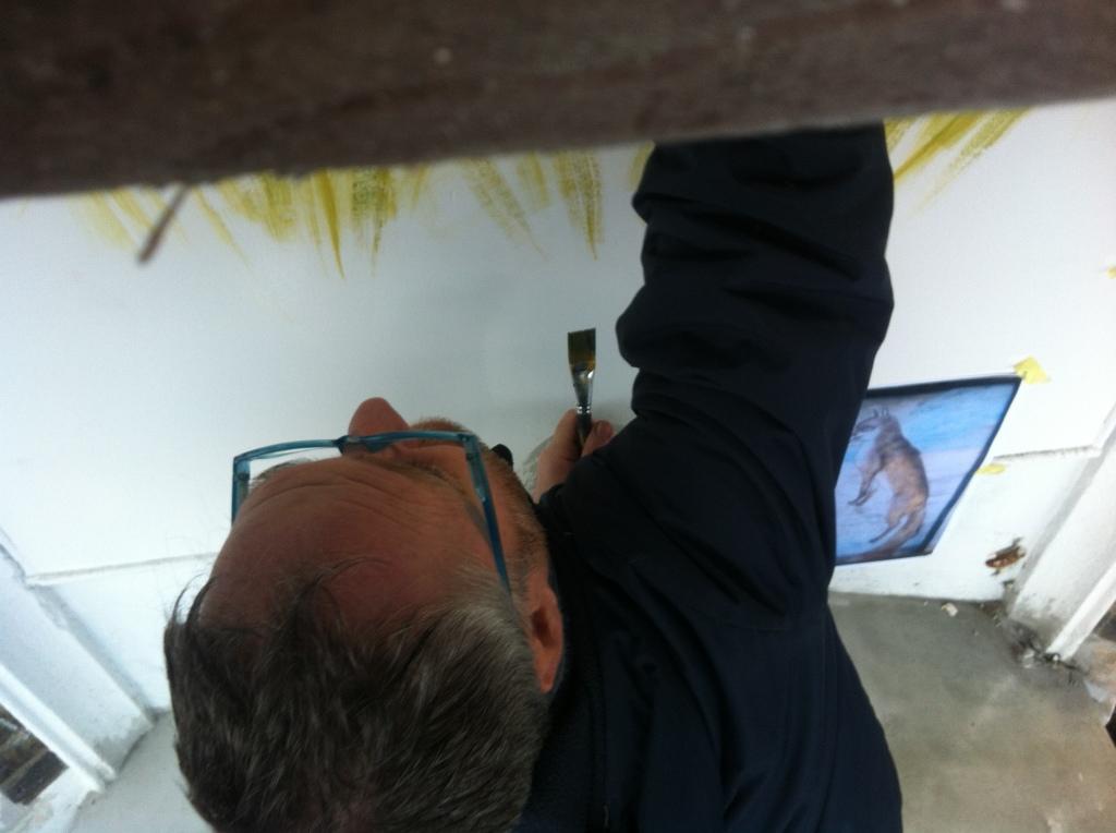 Nick Garrett mural artist signwriter