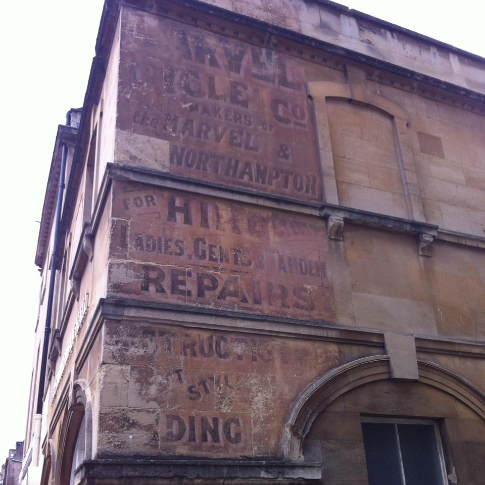Inspiration from above and beyond - the historic signs around us.