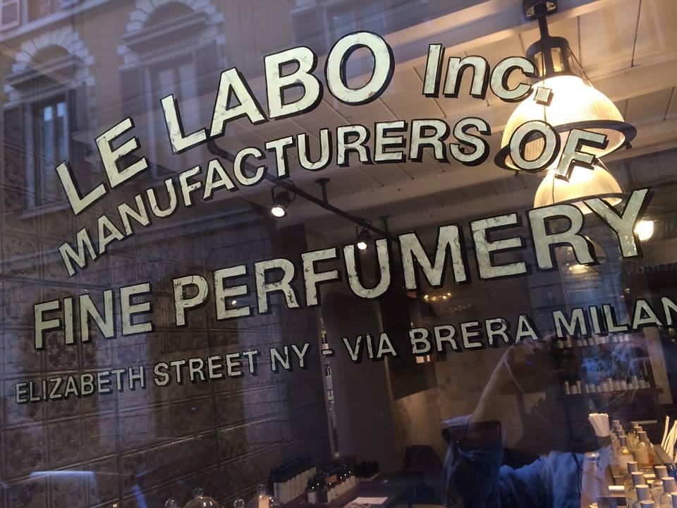 Le Labo Milano - NGS Signwriting Nick Garretti