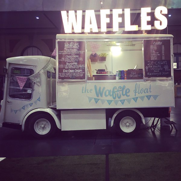 Waffle float NGS signwriters