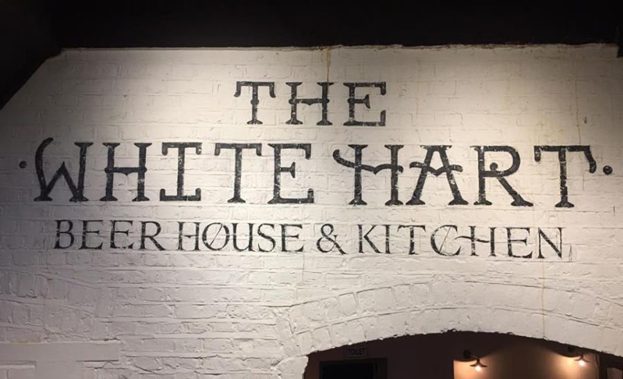 White Hart Elevateion interior ghost sign NGS's Tobias prop copia