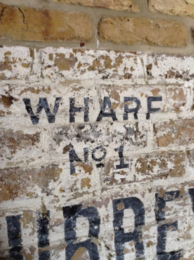 Great Ghost signs by NGS Signwriters London