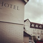 County Hotel signage by Nick Garrett Signs London