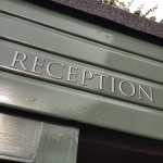 Reception County Hotel Chelmsford NGS signs London