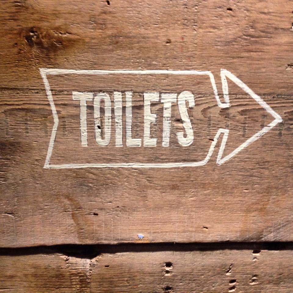 Rustic toilets