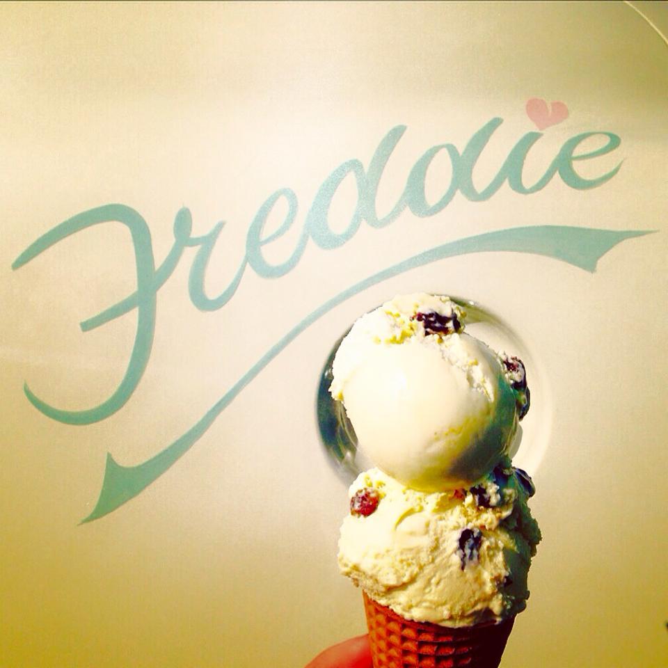 Freddie NGS signwriting