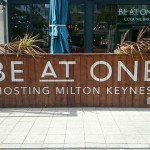 BAO Milton Keynes NGS signs front on