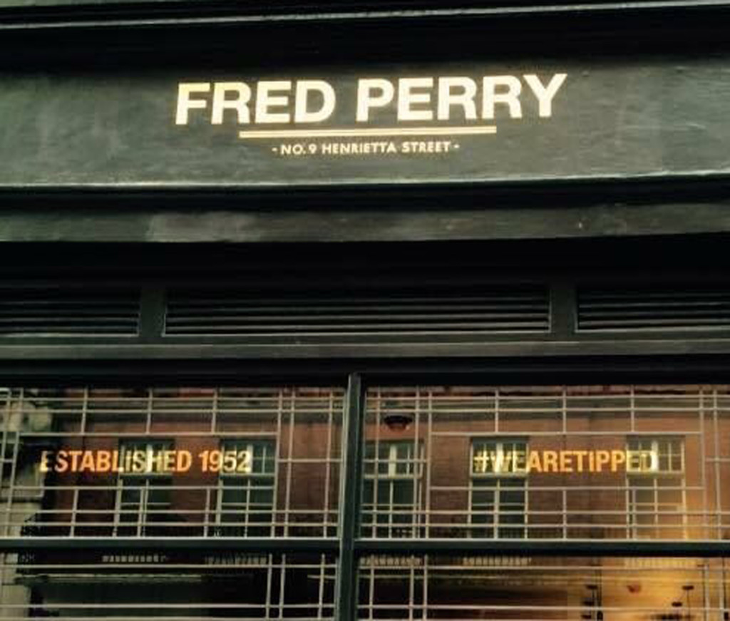 Fred-Perry fini