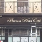 Buenos Aires Cafe finished NGS Nick Garrett Hannah Matthews