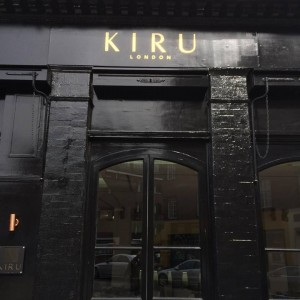 Kiru NGS fine signs London