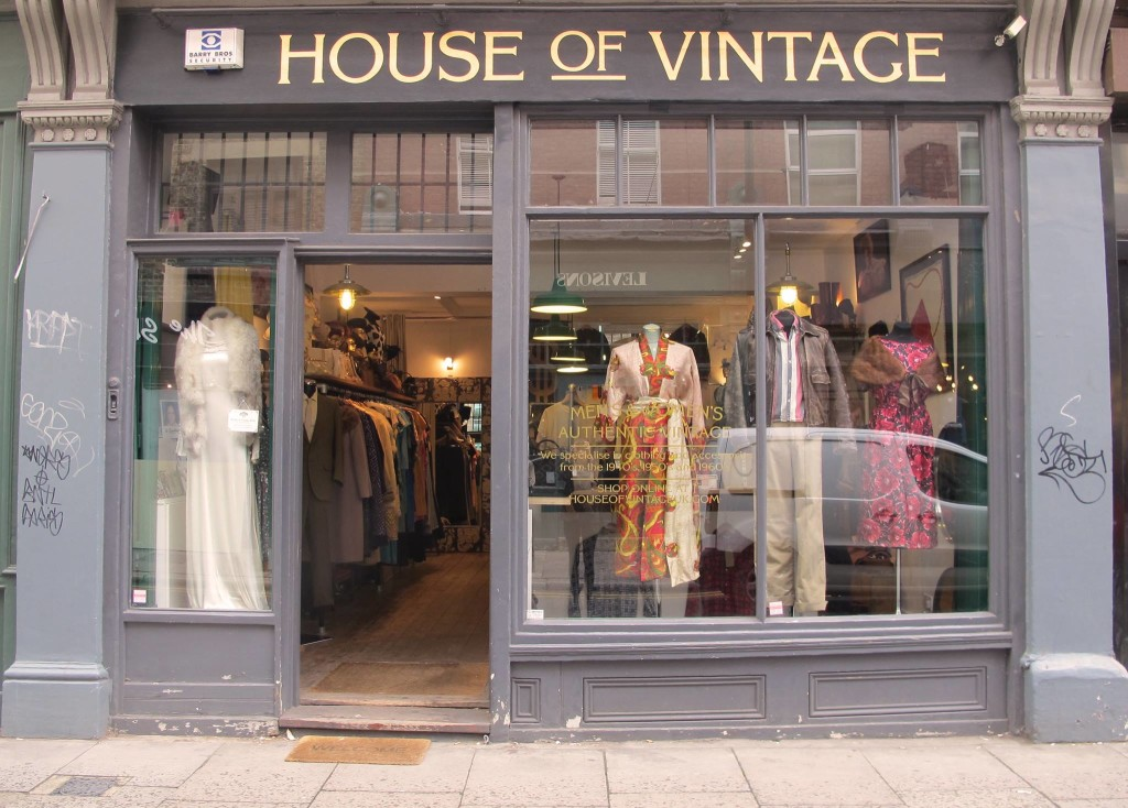 House of Vintage sign by NGS of London