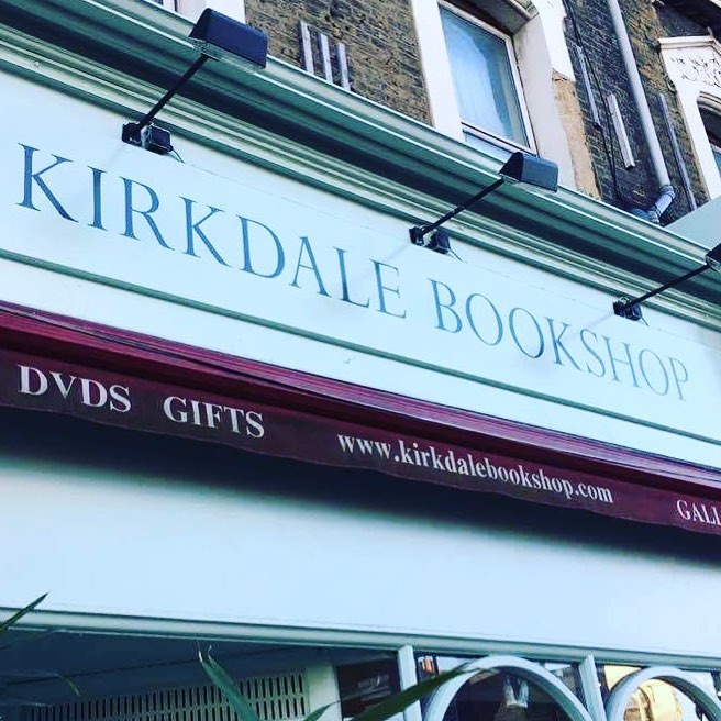 Kirkdale Roman NGS signwriting London