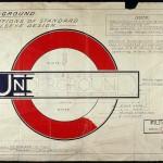 London transport signage